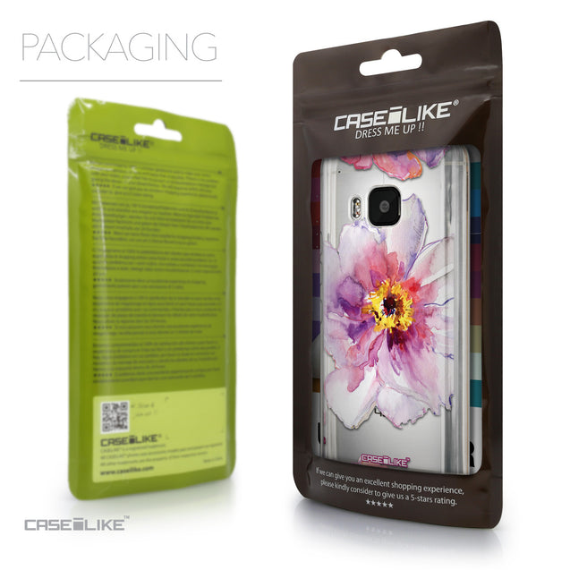 Packaging - CASEiLIKE HTC One M9 back cover Watercolor Floral 2231