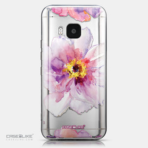 CASEiLIKE HTC One M9 back cover Watercolor Floral 2231