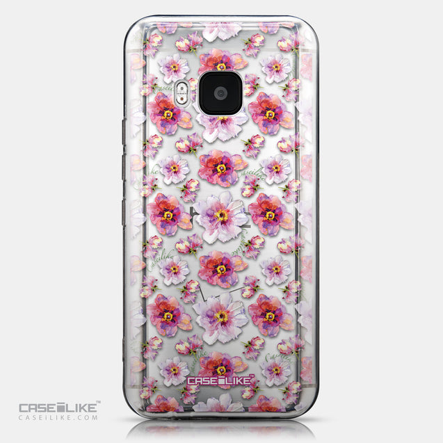 CASEiLIKE HTC One M9 back cover Watercolor Floral 2232