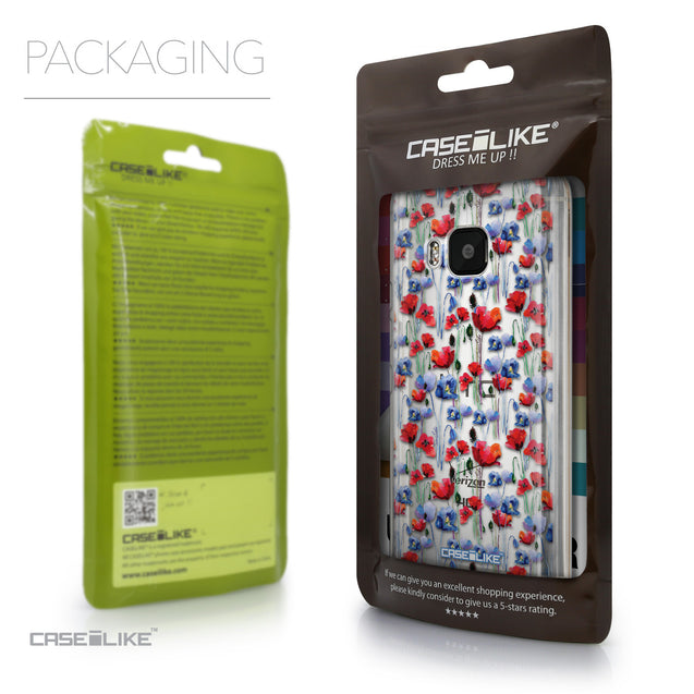 Packaging - CASEiLIKE HTC One M9 back cover Watercolor Floral 2233