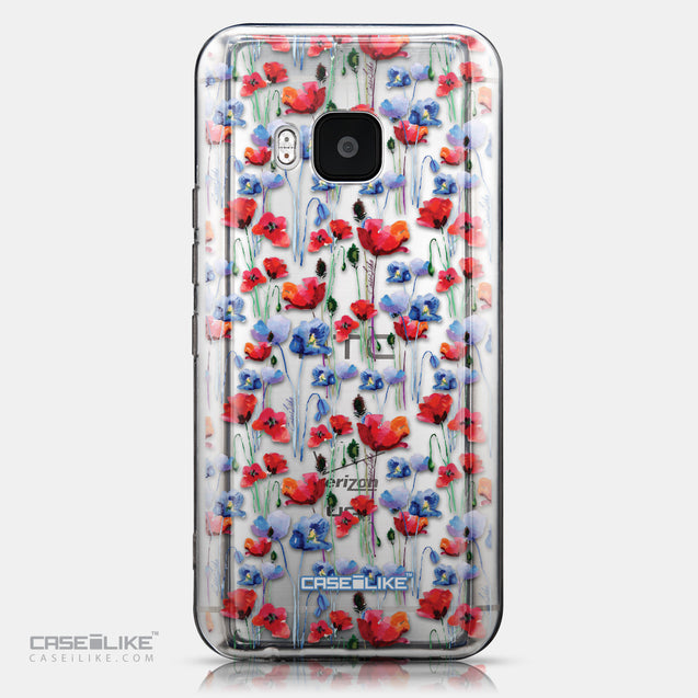 CASEiLIKE HTC One M9 back cover Watercolor Floral 2233