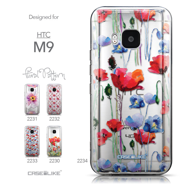 Collection - CASEiLIKE HTC One M9 back cover Indian Line Art 2061