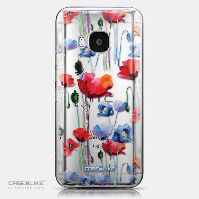 CASEiLIKE HTC One M9 back cover Watercolor Floral 2234