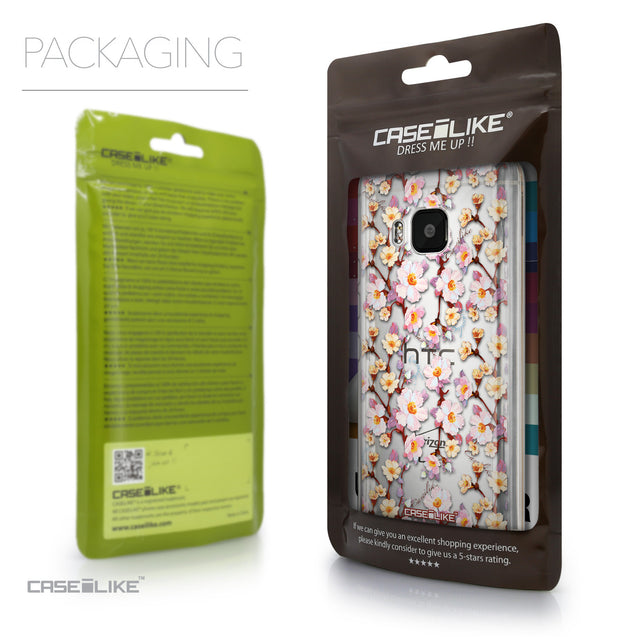 Packaging - CASEiLIKE HTC One M9 back cover Watercolor Floral 2236
