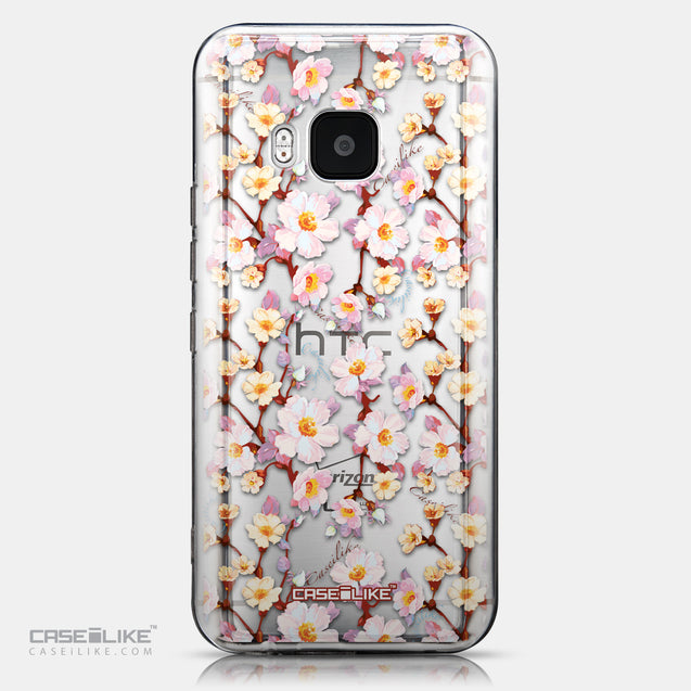 CASEiLIKE HTC One M9 back cover Watercolor Floral 2236
