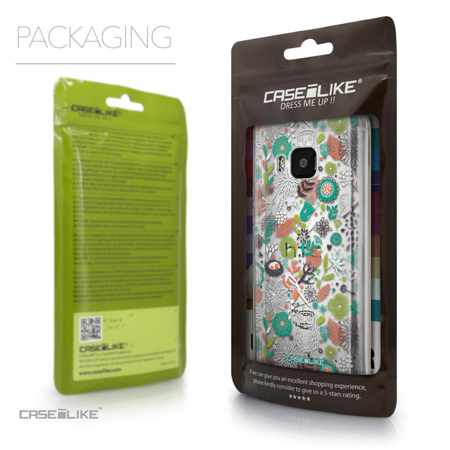 Packaging - CASEiLIKE HTC One M9 back cover Spring Forest White 2241