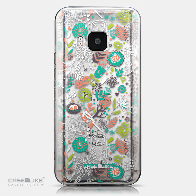 CASEiLIKE HTC One M9 back cover Spring Forest White 2241