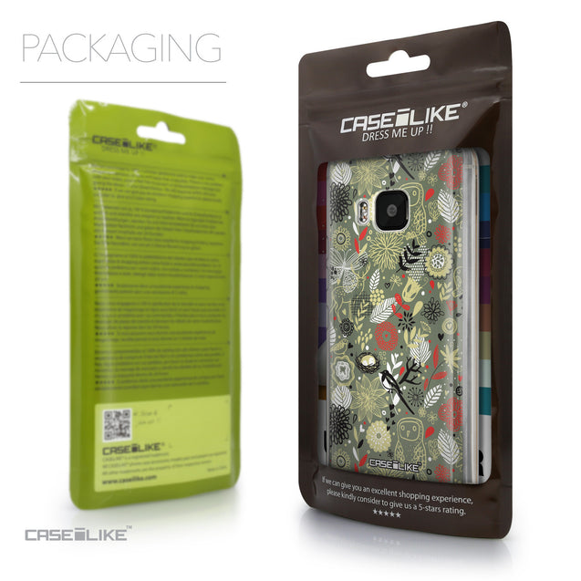 Packaging - CASEiLIKE HTC One M9 back cover Spring Forest Gray 2243