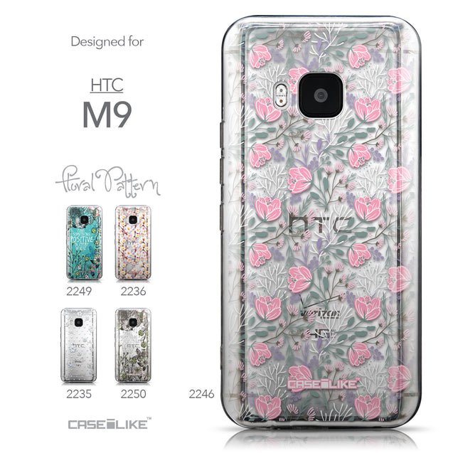 Collection - CASEiLIKE HTC One M9 back cover Flowers Herbs 2246