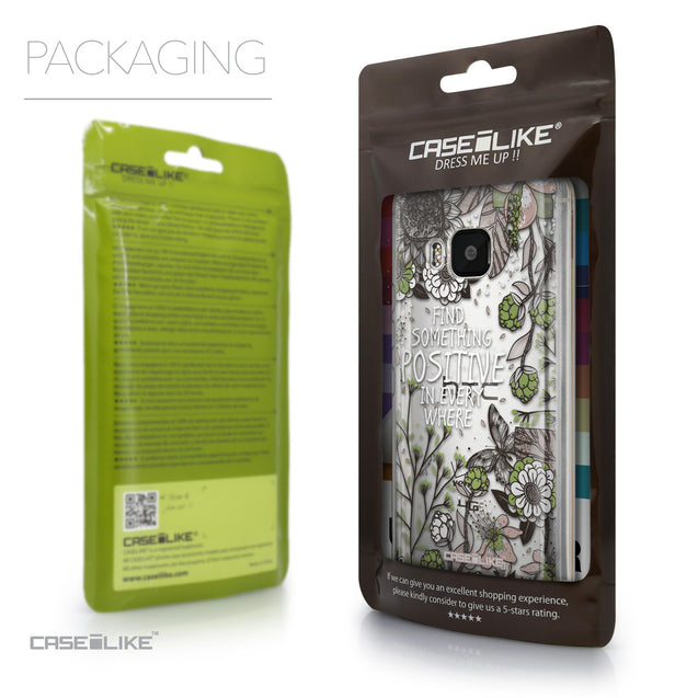Packaging - CASEiLIKE HTC One M9 back cover Blooming Flowers 2250