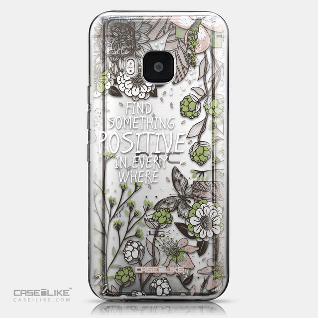 CASEiLIKE HTC One M9 back cover Blooming Flowers 2250