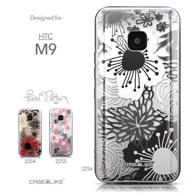 Collection - CASEiLIKE HTC One M9 back cover Japanese Floral 2256