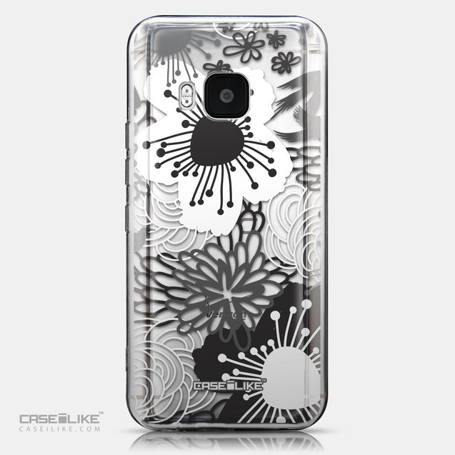 CASEiLIKE HTC One M9 back cover Japanese Floral 2256