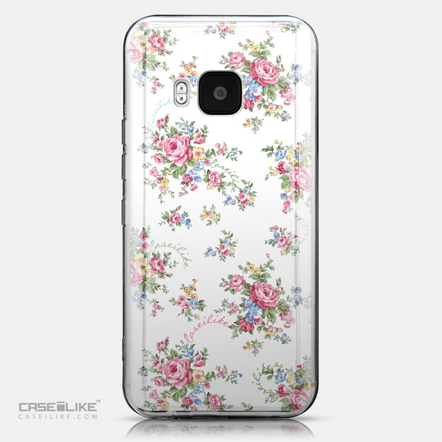 CASEiLIKE HTC One M9 back cover Floral Rose Classic 2260