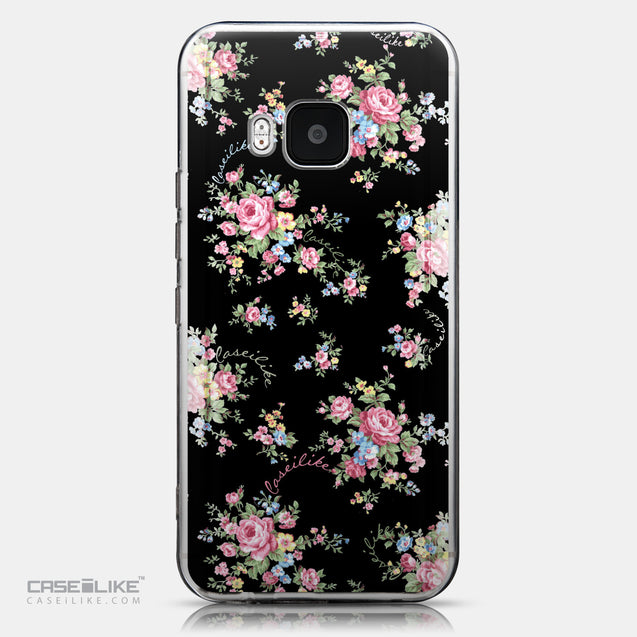 CASEiLIKE HTC One M9 back cover Floral Rose Classic 2261
