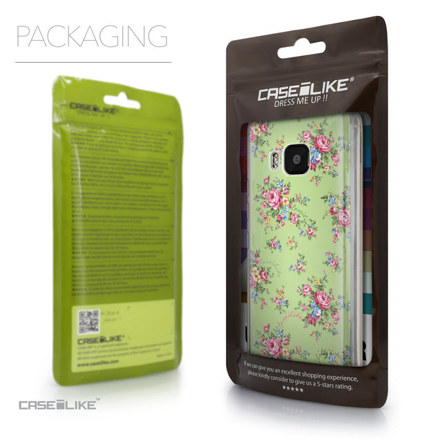 Packaging - CASEiLIKE HTC One M9 back cover Floral Rose Classic 2262
