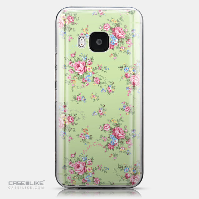 CASEiLIKE HTC One M9 back cover Floral Rose Classic 2262