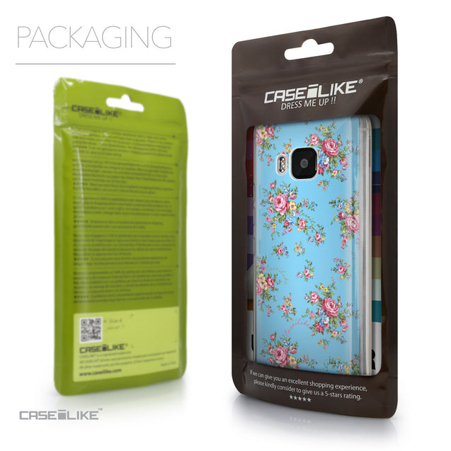 Packaging - CASEiLIKE HTC One M9 back cover Floral Rose Classic 2263