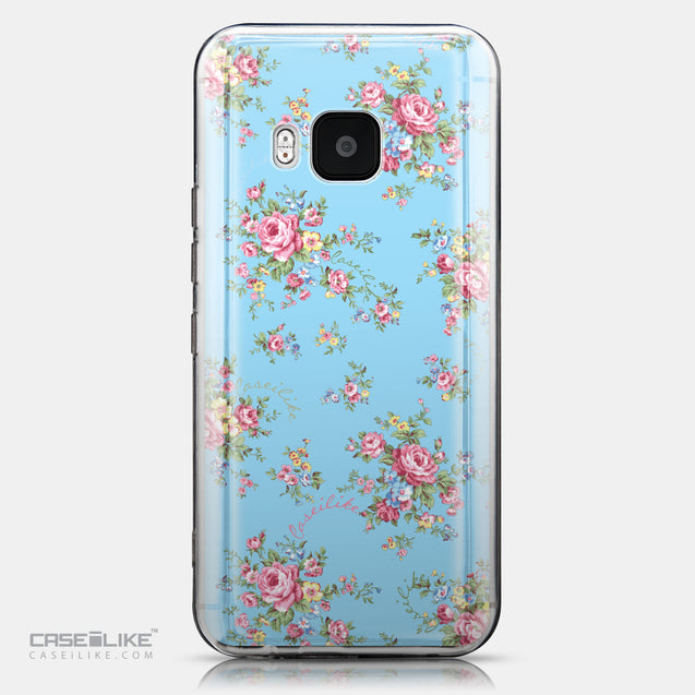 CASEiLIKE HTC One M9 back cover Floral Rose Classic 2263