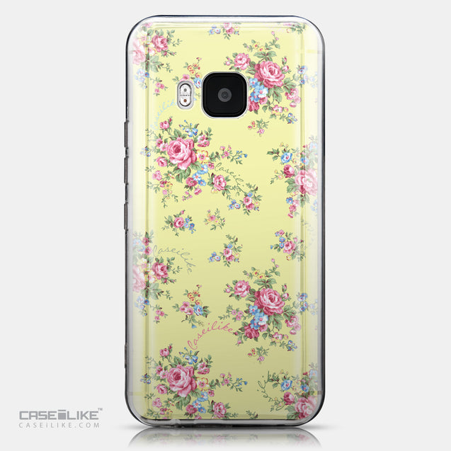 CASEiLIKE HTC One M9 back cover Floral Rose Classic 2264