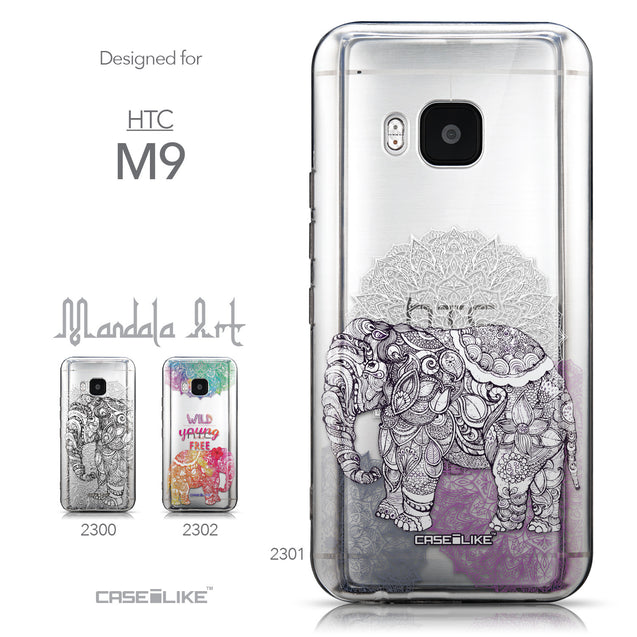 Collection - CASEiLIKE HTC One M9 back cover Mandala Art 2301
