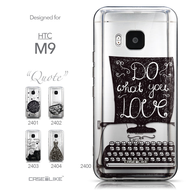 Collection - CASEiLIKE HTC One M9 back cover Quote 2400