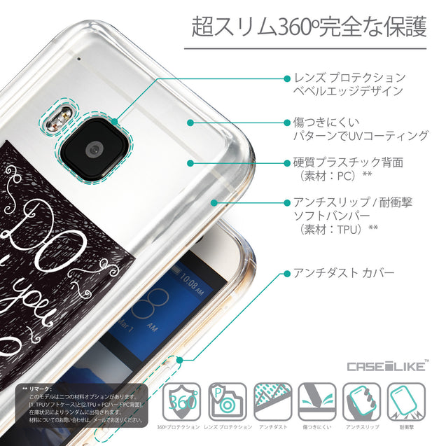Details in Japanese - CASEiLIKE HTC One M9 back cover Quote 2400