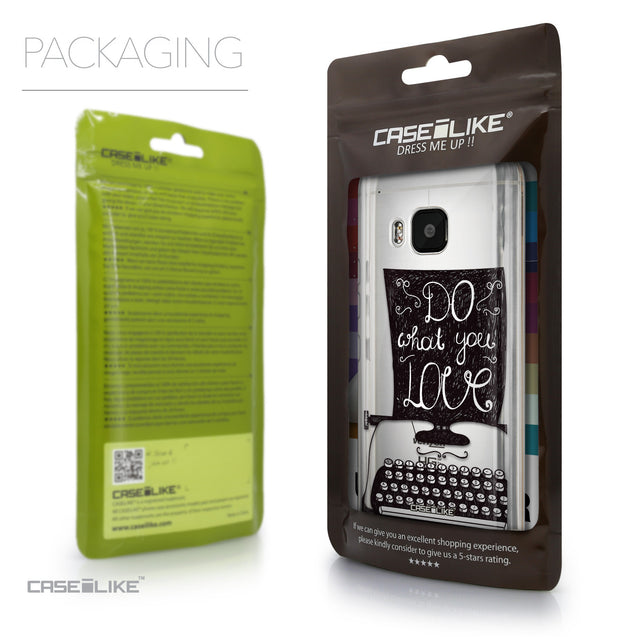 Packaging - CASEiLIKE HTC One M9 back cover Quote 2400