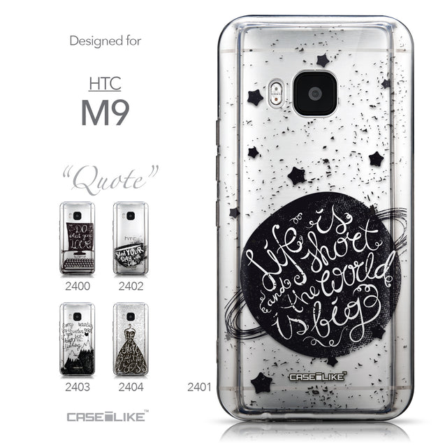 Collection - CASEiLIKE HTC One M9 back cover Quote 2401