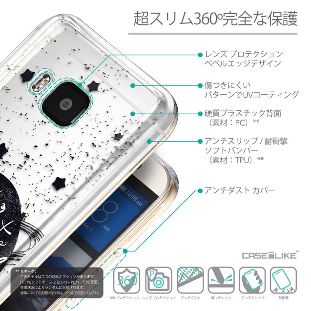 Details in Japanese - CASEiLIKE HTC One M9 back cover Quote 2401