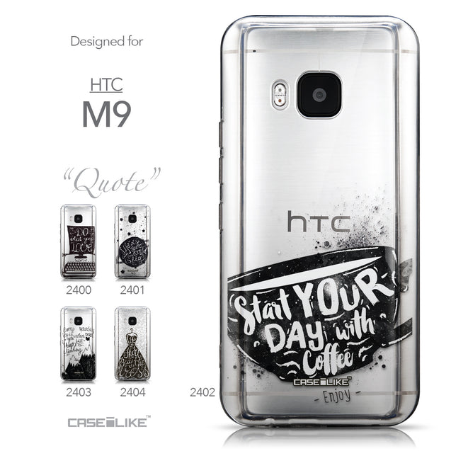 Collection - CASEiLIKE HTC One M9 back cover Quote 2402