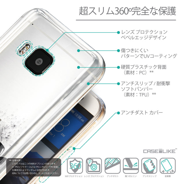 Details in Japanese - CASEiLIKE HTC One M9 back cover Quote 2402
