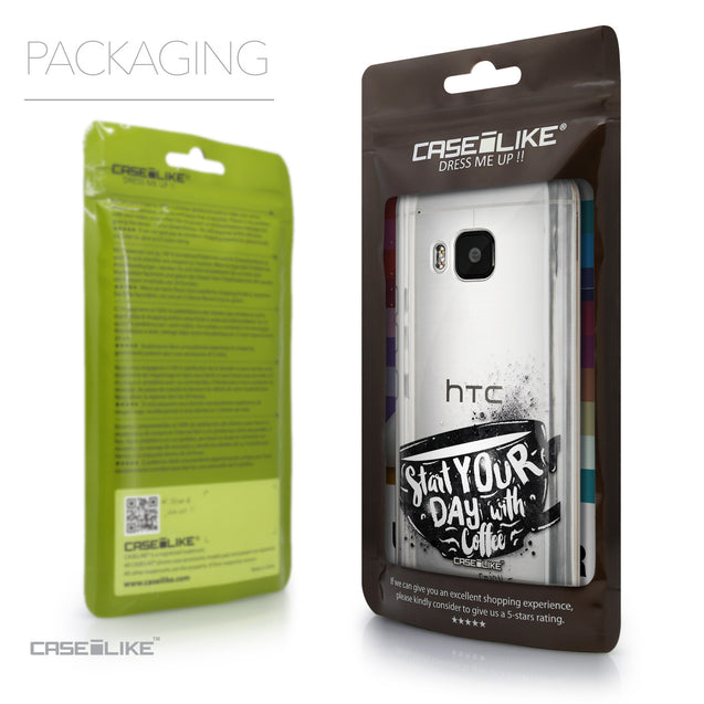Packaging - CASEiLIKE HTC One M9 back cover Quote 2402
