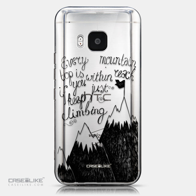 CASEiLIKE HTC One M9 back cover Quote 2403