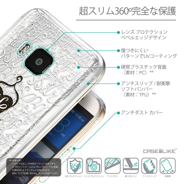 Details in Japanese - CASEiLIKE HTC One M9 back cover Indian Tribal Theme Pattern 2053