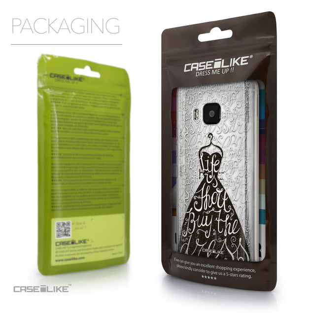 Packaging - CASEiLIKE HTC One M9 back cover Indian Tribal Theme Pattern 2053