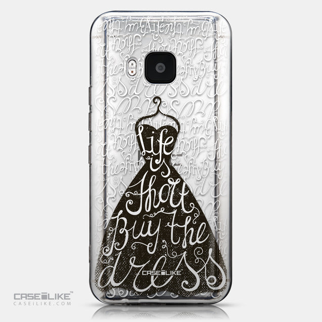 CASEiLIKE HTC One M9 back cover Quote 2404