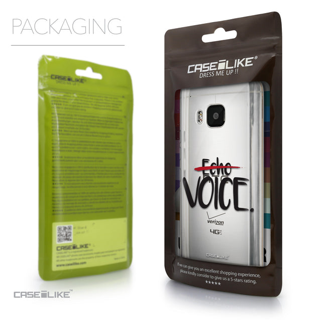 Packaging - CASEiLIKE HTC One M9 back cover Quote 2405