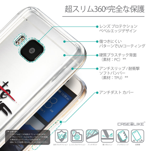 Details in Japanese - CASEiLIKE HTC One M9 back cover Quote 2406