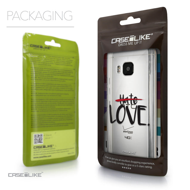 Packaging - CASEiLIKE HTC One M9 back cover Quote 2406