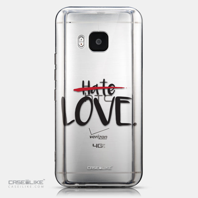 CASEiLIKE HTC One M9 back cover Quote 2406