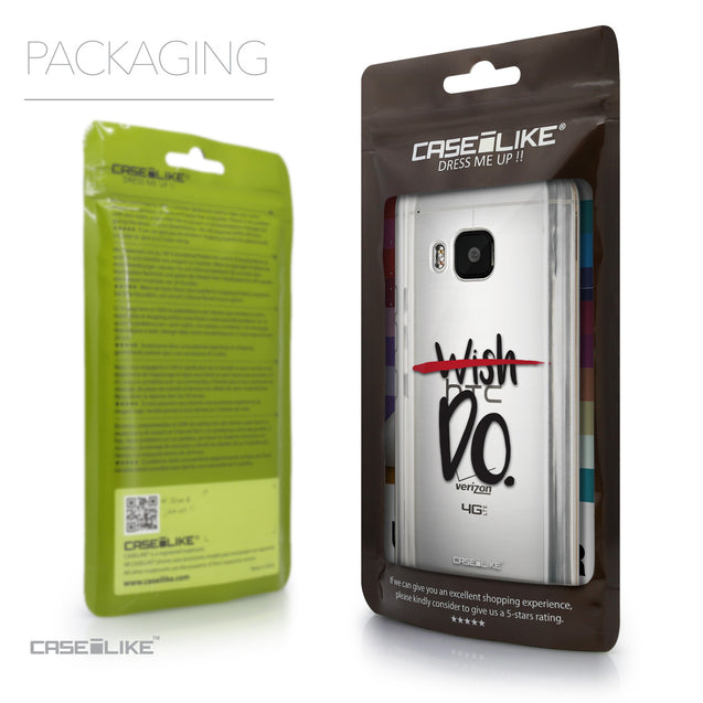 Packaging - CASEiLIKE HTC One M9 back cover Quote 2407