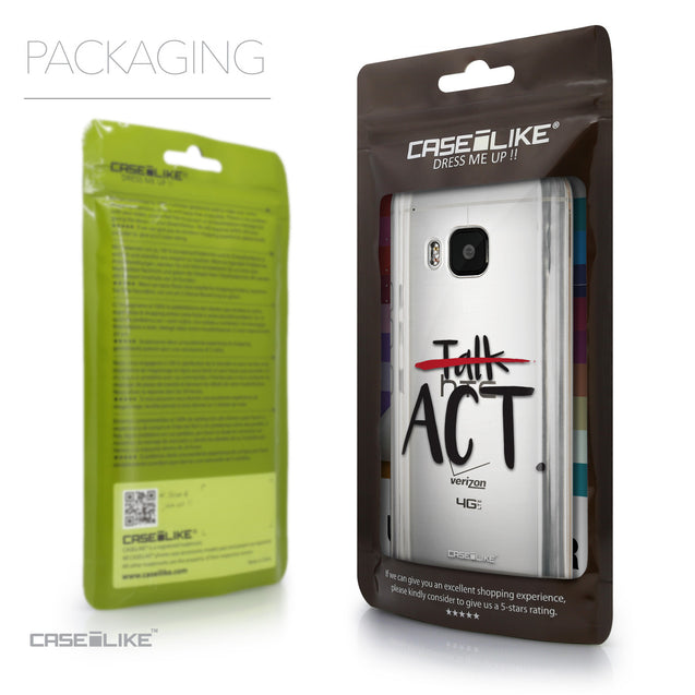 Packaging - CASEiLIKE HTC One M9 back cover Quote 2408
