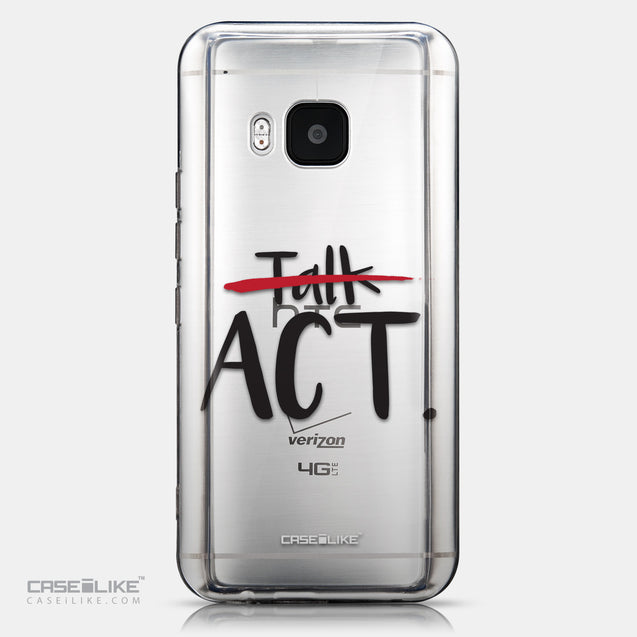 CASEiLIKE HTC One M9 back cover Quote 2408