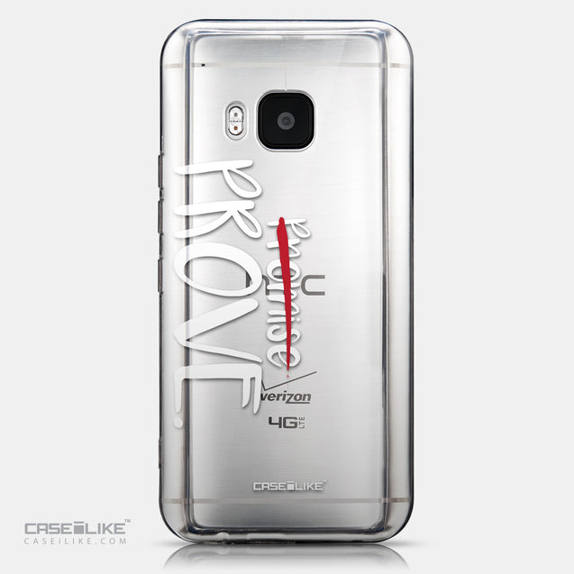 CASEiLIKE HTC One M9 back cover Quote 2409