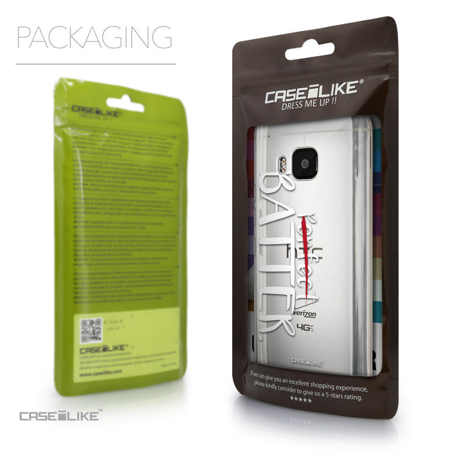 Packaging - CASEiLIKE HTC One M9 back cover Quote 2410
