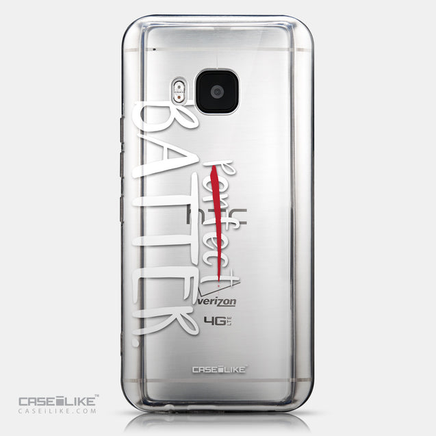 CASEiLIKE HTC One M9 back cover Quote 2410