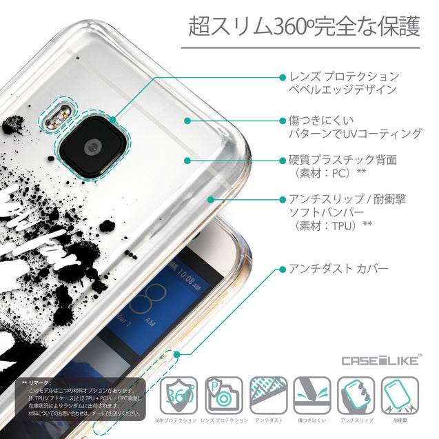 Details in Japanese - CASEiLIKE HTC One M9 back cover Quote 2413