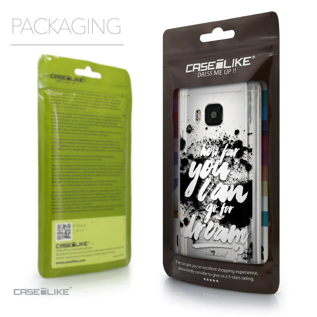 Packaging - CASEiLIKE HTC One M9 back cover Quote 2413