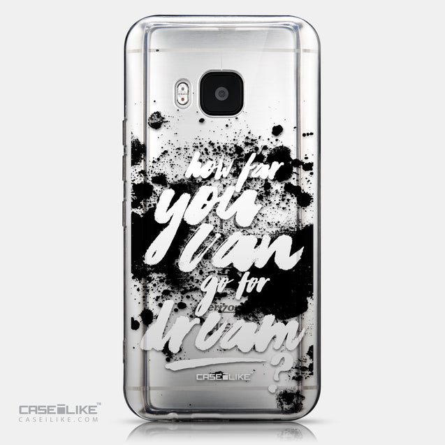 CASEiLIKE HTC One M9 back cover Quote 2413